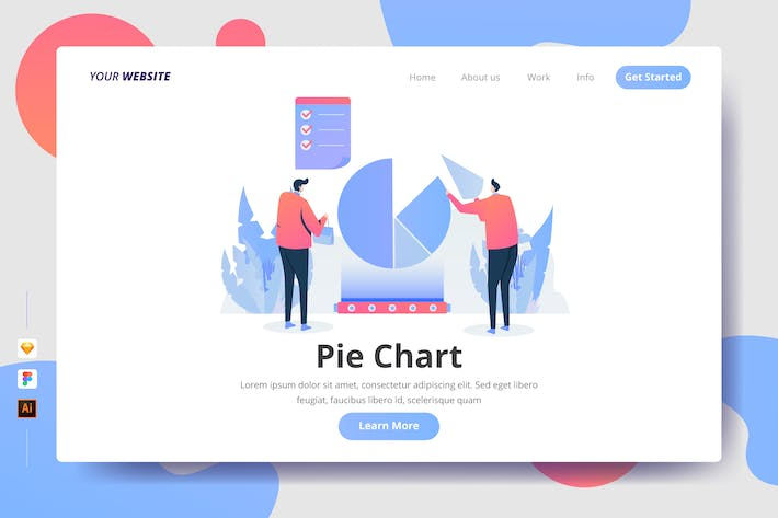Thumbnail for Pie Chart - Landing Page
