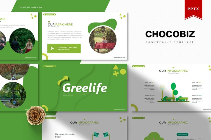 Thumbnail for Greelife | Powerpoint Template