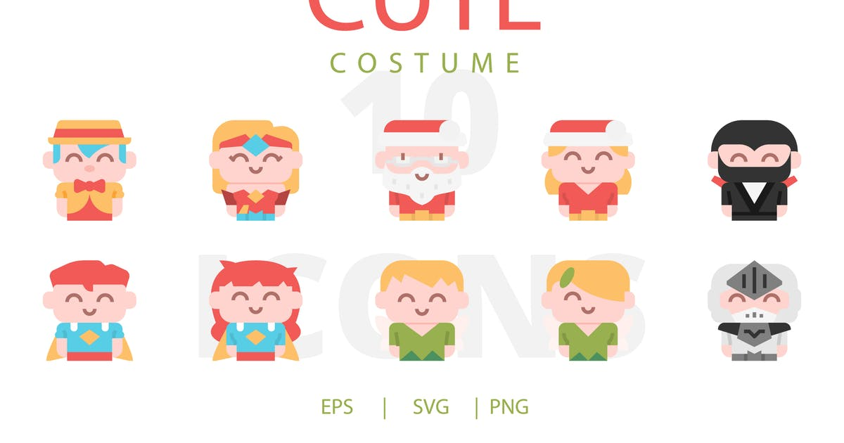 Download Cute Costume by linector