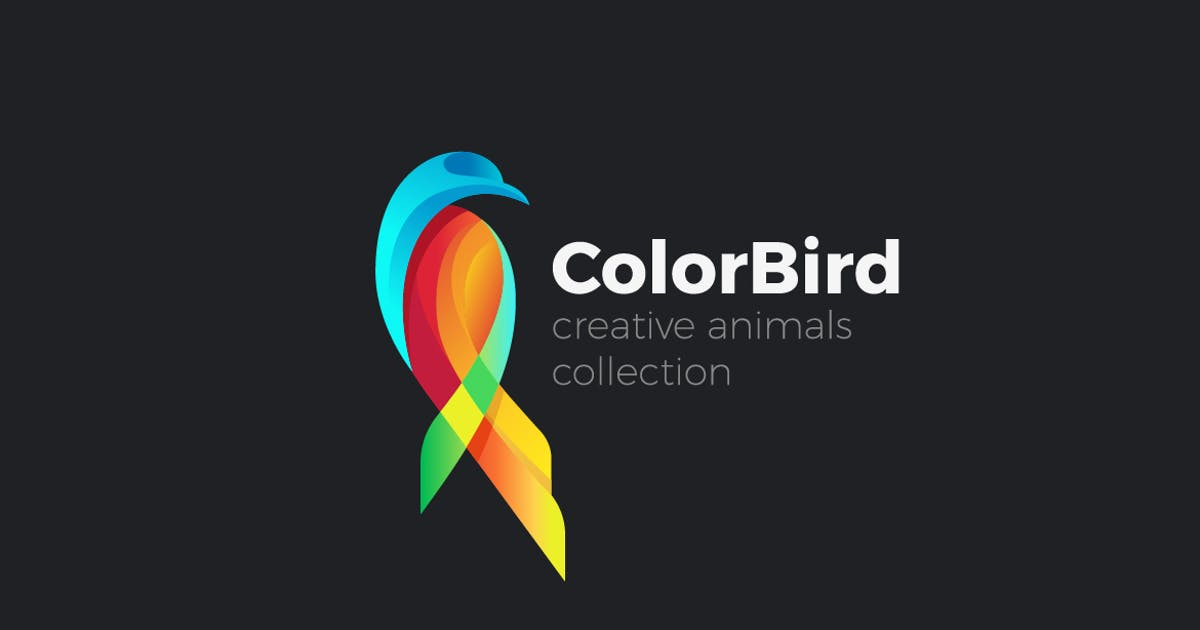 Download Logo Colorful Bird Parrot abstract by Sentavio