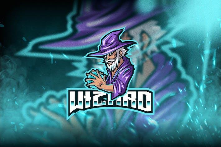 Thumbnail for Wizard Esport Logo Template