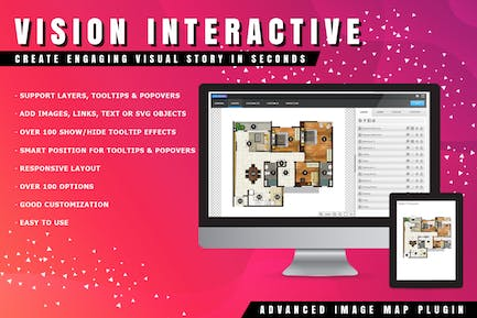 Vision Interactive - Smart Image Map for WordPress