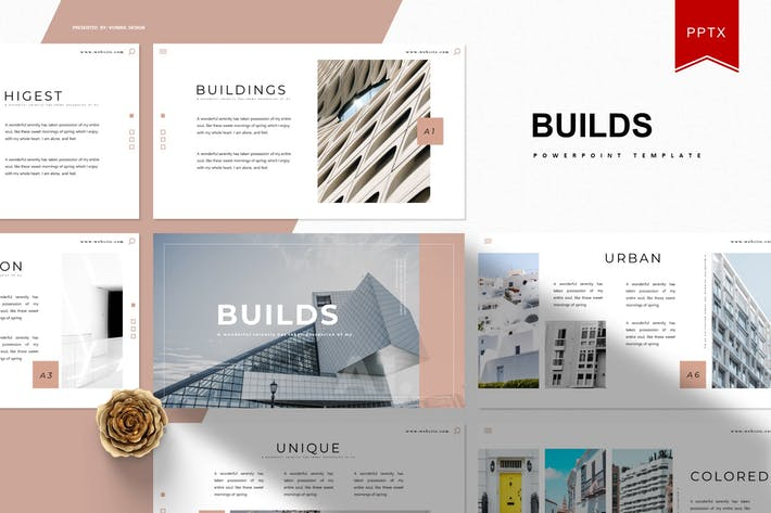 Thumbnail for Builds | Powerpoint Template