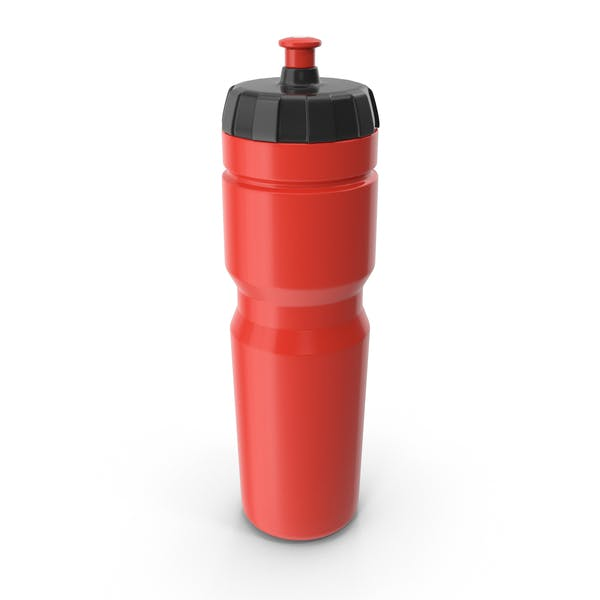 Red Sport Bottle