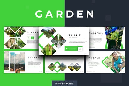 Garden - Powerpoint Template