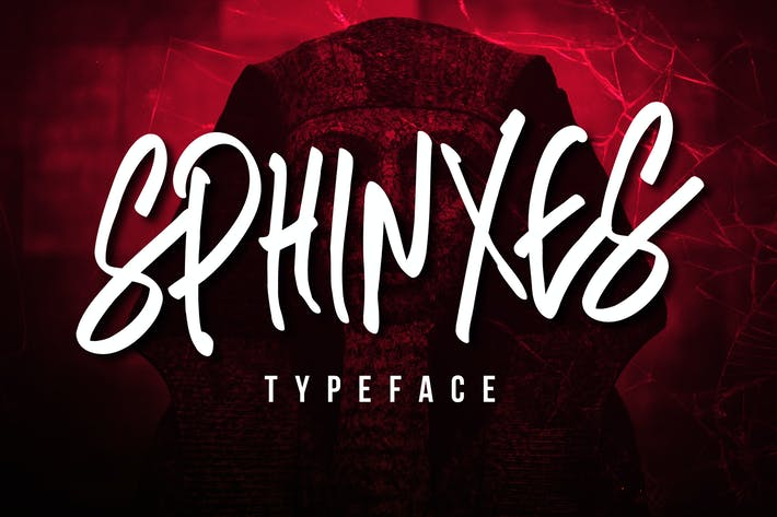 Thumbnail for Sphinxes Typeface