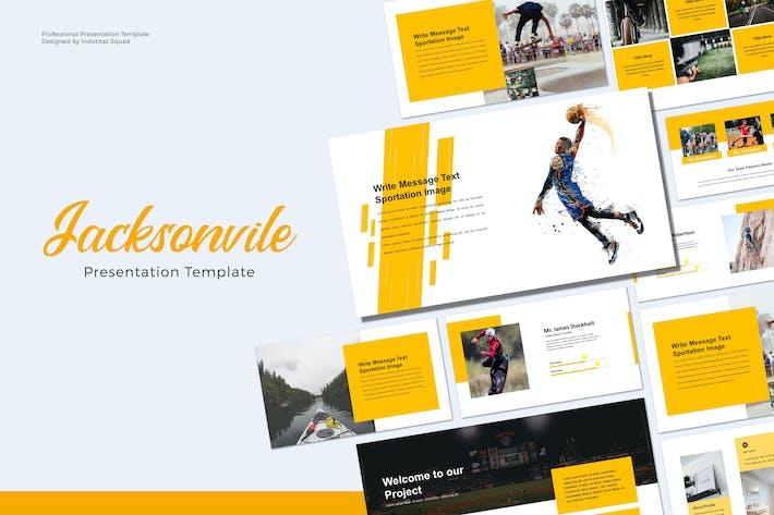 Thumbnail for JACKSONVILE - Keynote Vorlage