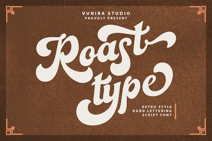 Thumbnail for Roastypes | Handlettering Script Font