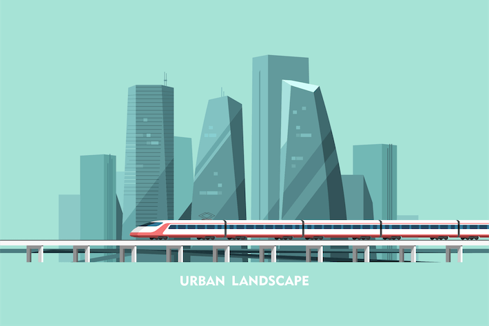 Thumbnail for Cityscape Background Urban Landscape