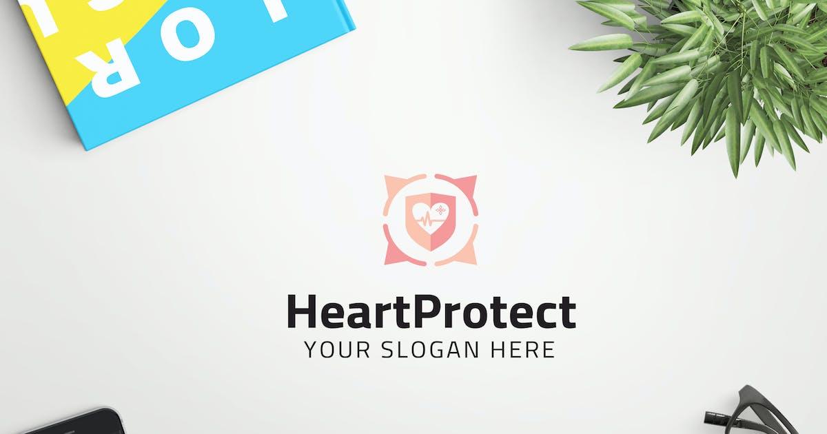 Download HeartProtect professional logo by ovozdigital