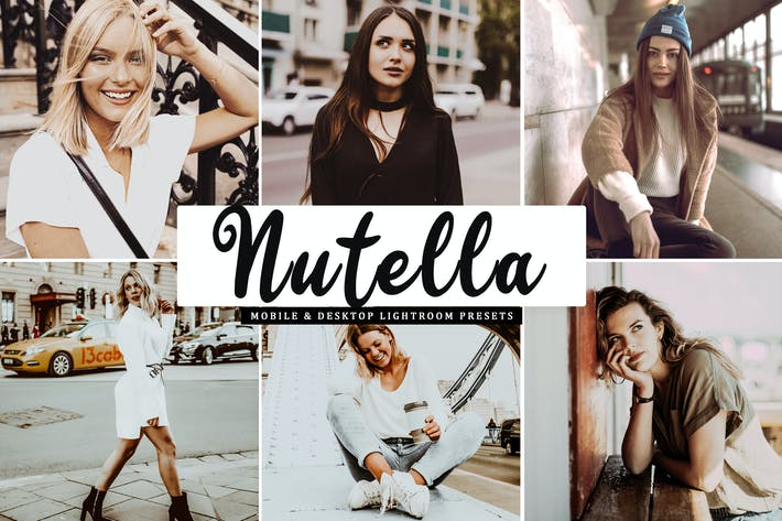 Thumbnail for Nutella Mobile & Desktop Lightroom Presets