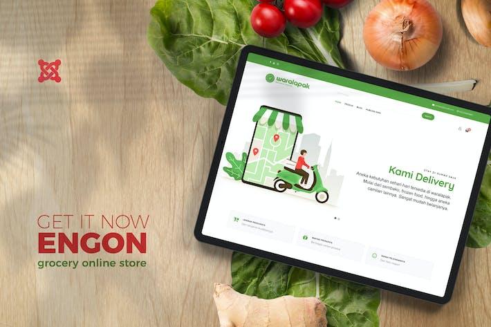 Engin - Modèles de magasin en ligne d'épicerie