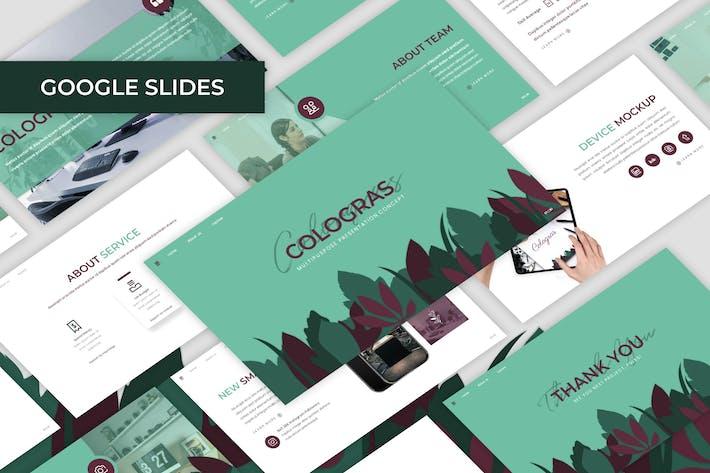 Thumbnail for Cologras - Многоцелевой Шаблон Google слайдов