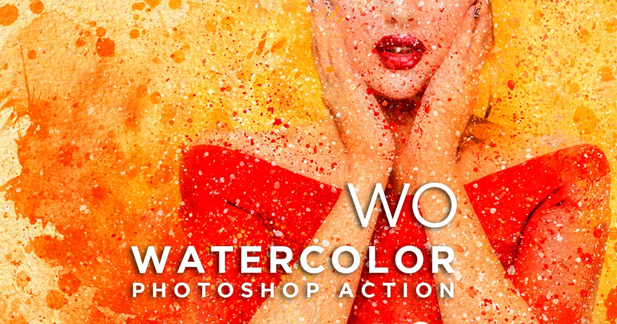 Download WO Watercolor Photoshop Action by walllow
