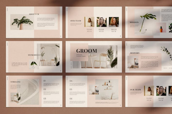 Thumbnail for GROOM - Keynote Template