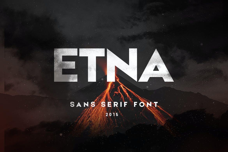 Etna-Sans-Serif