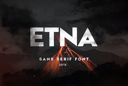 Etna Sans Con serifa