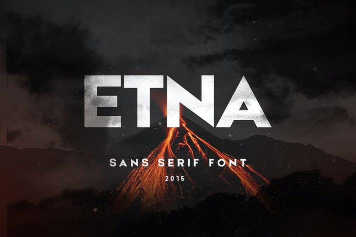 Thumbnail for Etna Sans Serif