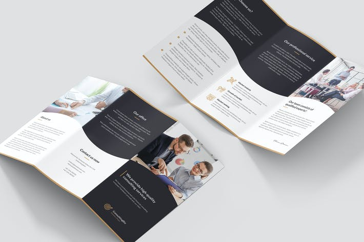 Thumbnail for Brochure – Business Consulting Tri-Fold