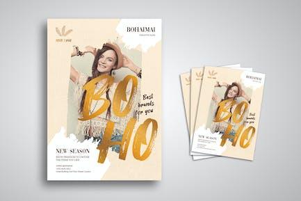 Boho Fashion Flyer