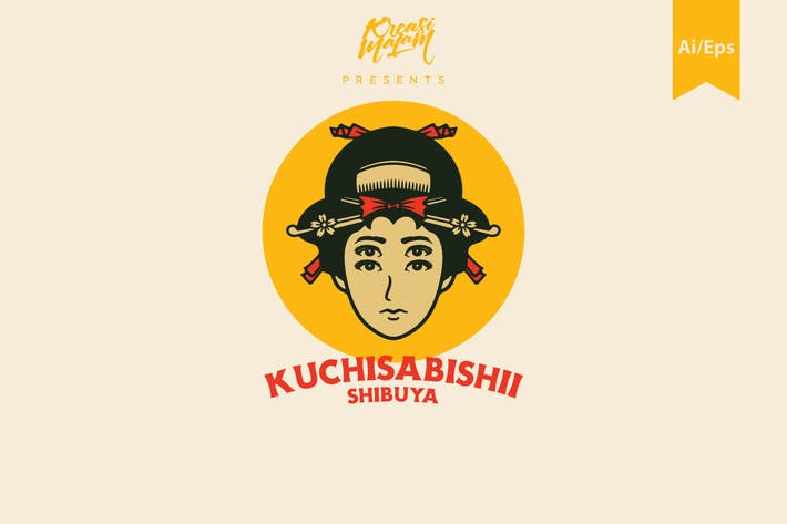 Thumbnail for Kuchisabishii Logo Template