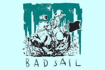 Bad Sail Effect - a bad day at sea