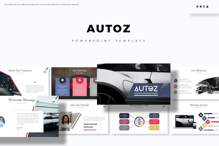 Autoz - Powerpoint Template