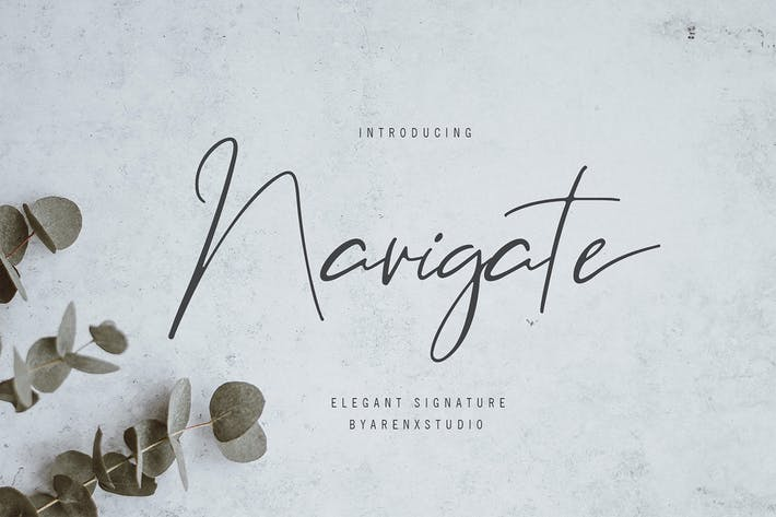 Navigate Elegant Signature