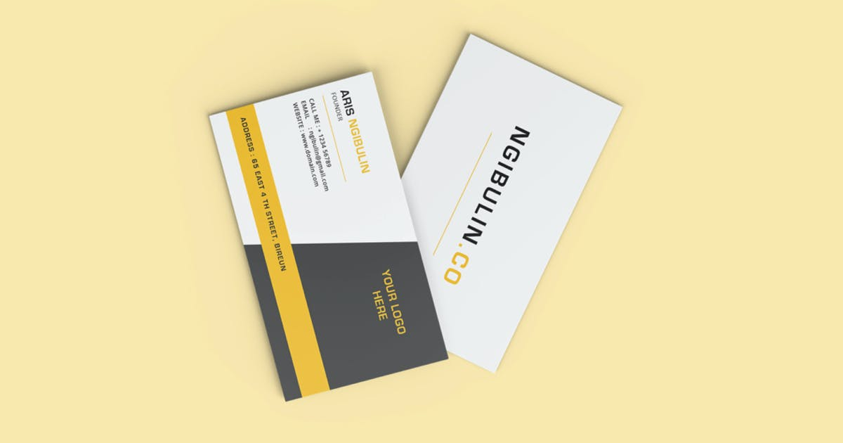 Download Business card Mockup by alhaytar