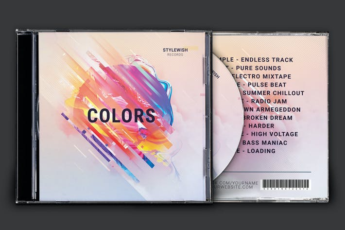 Thumbnail for Colors CD Cover Artwork