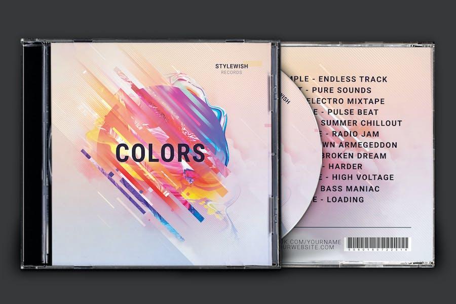 Colors CD Cover Artwork