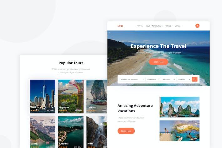 Thumbnail for Travel - Email Newsletter