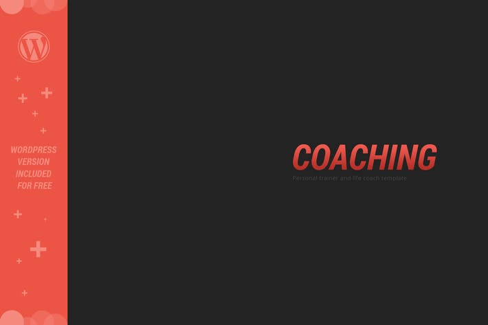 COACHING - Personal Trainer Template
