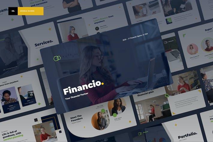 Thumbnail for Financio - Finance Power Point Presentation