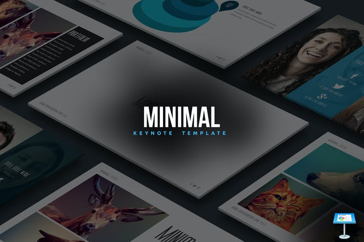 Thumbnail for Minimal Keynote Template