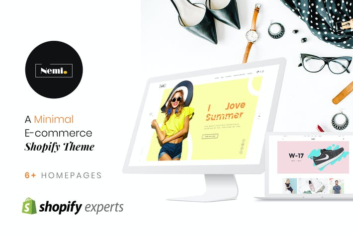 Thumbnail for Nemi | Multi Store Responsive Shopify Theme