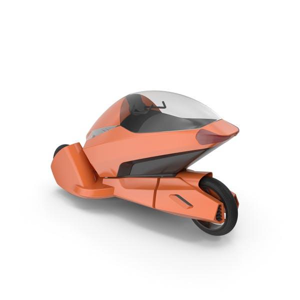 Concept Motor Cycle Orange
