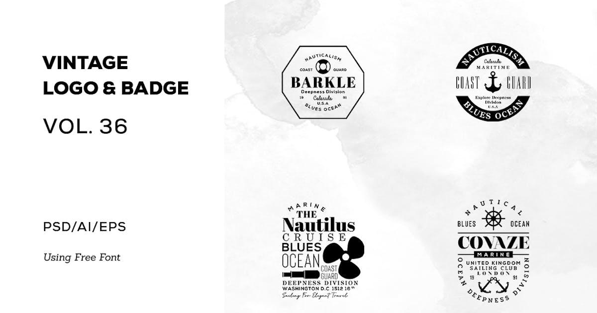 Download Vintage Logo & Badge Vol. 36 by sagesmask