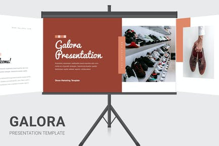 Galora - Shoes Business Powerpoint