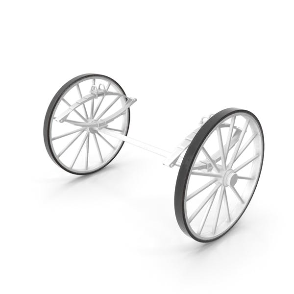 Carriage Wheels with Springs