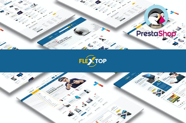Flextop Responsive Prestashop 1.7 Theme