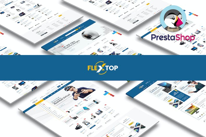 Thumbnail for Flextop Responsivo Prestashop 1.7 Tema