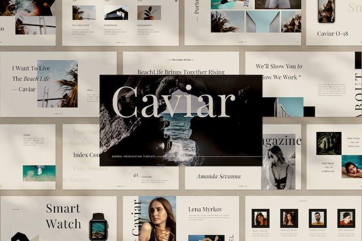 Thumbnail for Caviar Google Slides