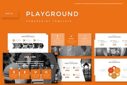Игровая площадка - Шаблон Powerpoint