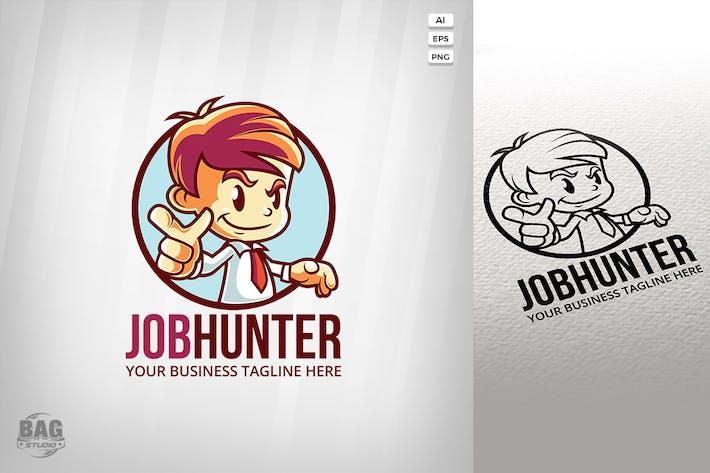 Thumbnail for Businessman Mascot Logo Template
