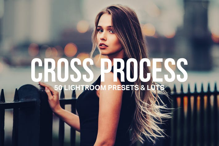 Thumbnail for 50 Cross Process Lightroom Presets and LUTs