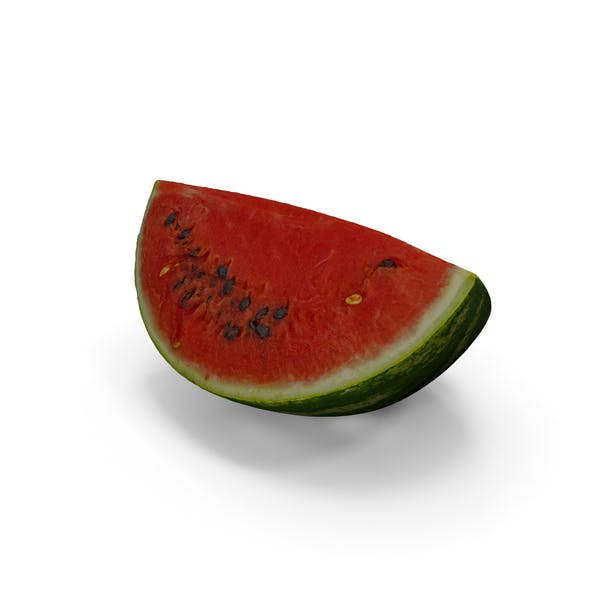 Watermelon Quarter Slice Realistic
