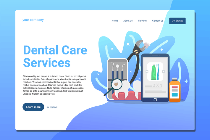 Thumbnail for Dentist - Landing Page