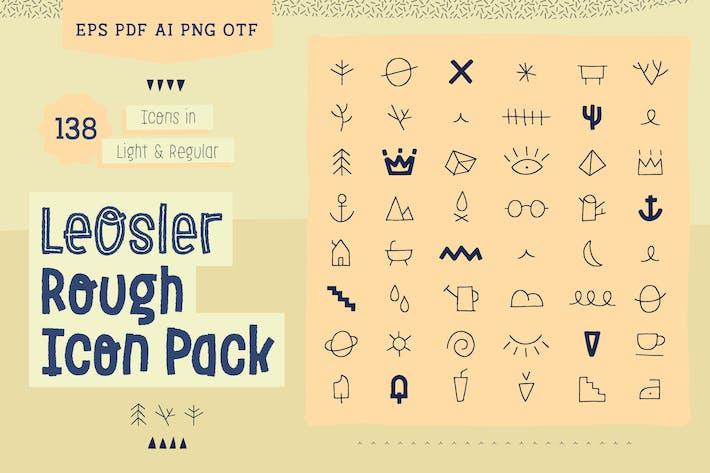Thumbnail for LeOsler Rough Icon Pack