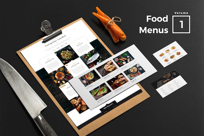 Thumbnail for Food Menus for Web Vol 01